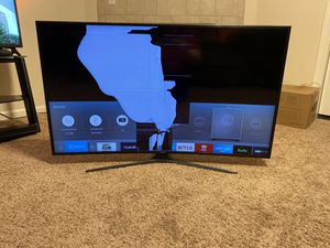 """Samsung 55"""" 4K Curved UHD TV for Sale in Fresno, CA"""