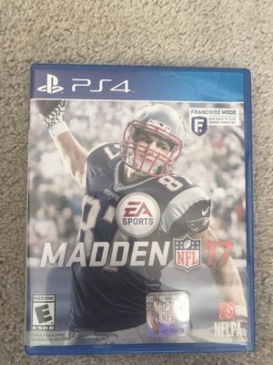 Madden '17 PlayStation 4 game for Sale in Seattle, WA