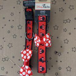 Disney Minnie Collar Med & Leash for Sale in La Habra,  CA