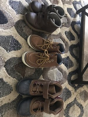 Size 12 boy shoes (Carter's/Gap) for Sale in Pawtucket, RI
