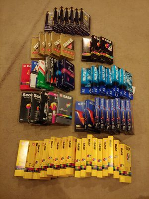 Gently used VHS tapes (entertaining offers) for Sale in Chandler, AZ