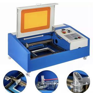 Upgraded 40W CO2 Laser Engraver Cutting Machine Crafts Cutter USB Interface LCD Panel !4 Caster Wheels !For DIY Crafts ! for Sale in Long Beach, CA