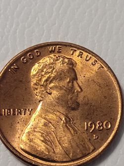 1980 D Penny Double Die Obverse for Sale in Reno,  NV