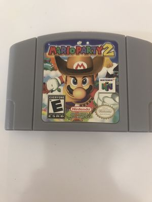 Mario Party 2 Nintendo 64 for Sale in Opa-locka, FL