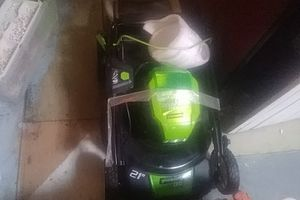 Lawn mower 21'' brushless mower by Greenworks Pro for Sale in San Diego, CA