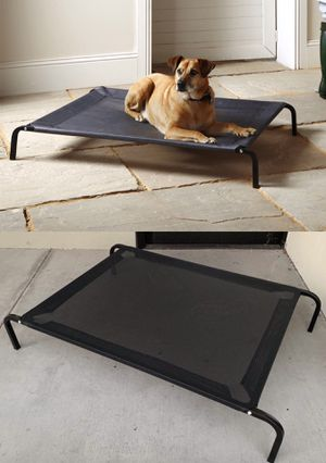 New in box L Large raised dog pet cot bed 45x30x8 inches tall for pets up to 90 lbs capacity elevated cuna de perro for Sale in Whittier, CA