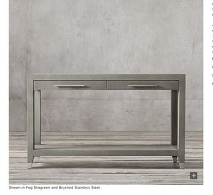 Restoration Hardware Console Table for Sale in San Francisco, CA