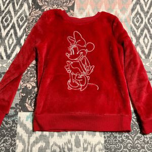 Girls Disney Minnie Mouse Moana Sweaters Size 6 sweater for Sale in Glendale, CA