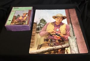 Vintage 1950s Whitman GUNSMOKE 63 Piece COMPLETE Jigsaw Puzzle COLLECTIBLE - SHIPPING AVAILABLE for Sale in Burrillville, RI