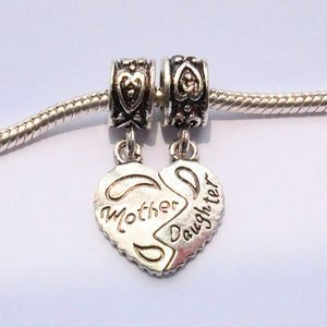 Detached mother /daughter charms for Sale in Severn, MD
