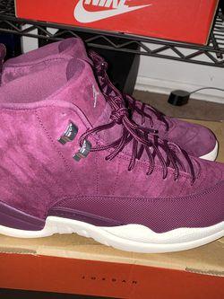 "Jordan 12 Retro ""Bordeaux"" Men Size: 12 for Sale in Tabernacle,  NJ"