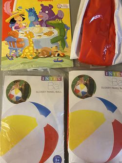 3 New Beach Ball And New Activity Book for Sale in Sammamish,  WA