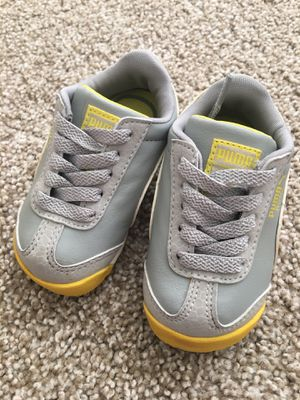 Puma baby shoes size 4 for Sale in Denver, CO