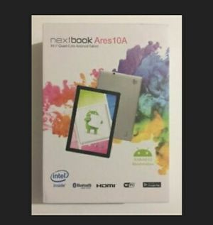New 10.1' Nextbook Ares 10A Tablet Android wifi Bluetooth cameras for Sale in HUNTINGTN BCH, CA