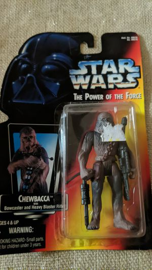 Chewbacca Action Figure Star Wars The Power Of The Force New for Sale in Visalia, CA