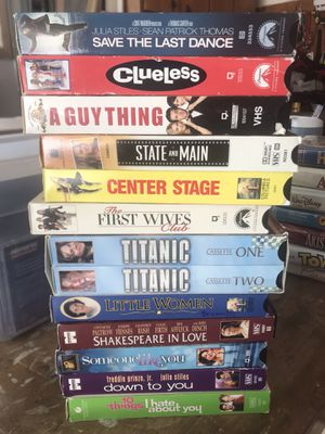 90's early 00's VHS tapes collection for Sale in Riverdale, IA