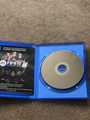 Fifa 18 PS4 for Sale in Redmond, WA