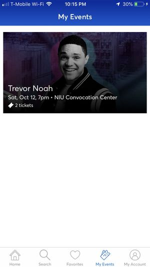 Trevor Noah Stand Up Tix for Sale in Chicago, IL