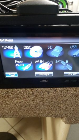 Jvc Double Din for Sale in Indianapolis, IN