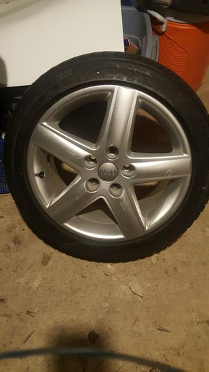 2 Audi a4 tires an rims for Sale in Harrisburg, PA