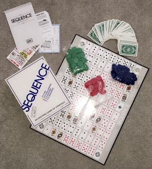 Sequence Board Game for Sale in Flower Mound, TX