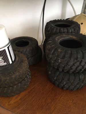 Rc tires 1.9 and 2.2 mud boggers 40$ 20 each for Sale in Wahiawa, HI