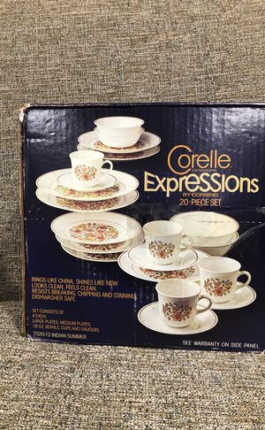 Corelle Livingware Expressions. Please see all the pictures and read the description for Sale in Alexandria, VA