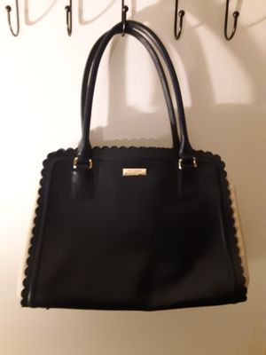 Navy blue and tan Kate spade purse for Sale in Upland, CA