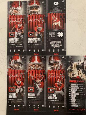 Pair of UGA Football Season Tickets for Sale in Atlanta, GA