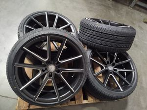 19x9.5+38 And New 245/35/19 Tires. 5x114.3 for Sale in Montclair, CA