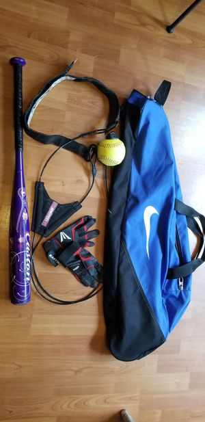 Youth Softball Set for Sale in Everett, WA