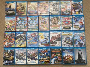 Nintendo wii u games for Sale in Anaheim, CA