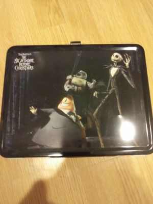 Nightmare before Christmas lunchbox for Sale in Charleston, SC