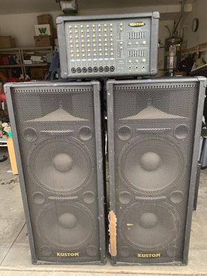 Kustom PA system 200$ for Sale in Duarte, CA