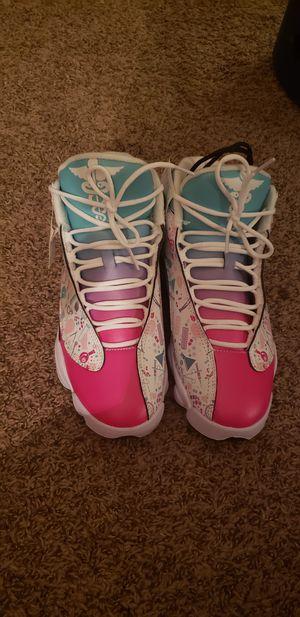 Jordan 13 style Minnie mouse Nurse shoes sz 10 women's for Sale in Mount Healthy, OH