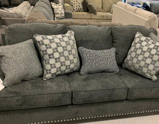 Locklin Carbon Queen Sofa Sleeper💐By Ashley for Sale in University Park,  MD