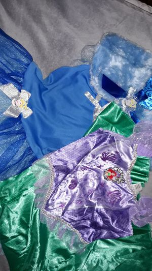 Girls disney costumes for Sale in Grand Prairie, TX