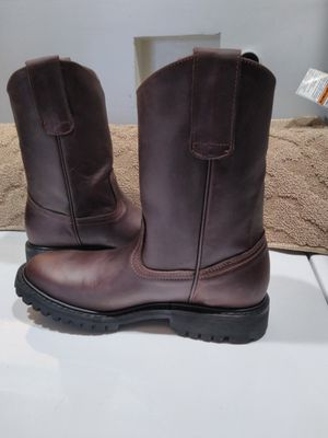Mexican Leather Work Boots-Bota de Mexico de Piel for Sale in Orange, CA
