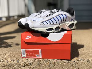 Nike Air Max Tailwind IV Men's Shoes White-Summit White-Vast AQ2567-105 size 11 for Sale in Riverside, NJ