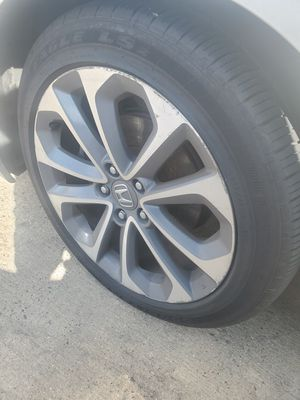 4 rims and tires for Sale in Washington, DC