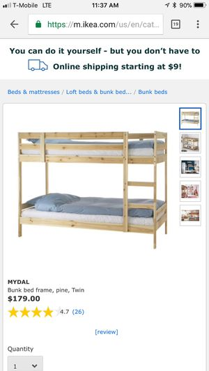 Bunk bed frame for Sale in Brooklyn, NY