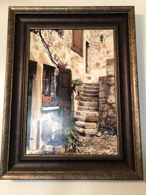 Framed original Martin Roberts painting for Sale in Ontario, CA