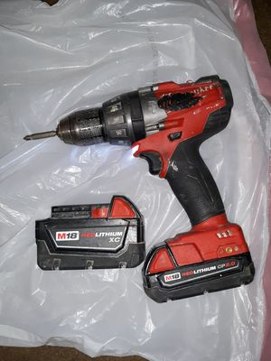 Milwakee M18 Red lithium XC brushless hammer drill for Sale in Indianapolis, IN
