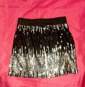 New Sequin mini skirt size small for Sale in Tampa, FL