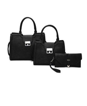 3in1 Fashion Square Buckle Tote Bag Set for Sale in Los Angeles, CA