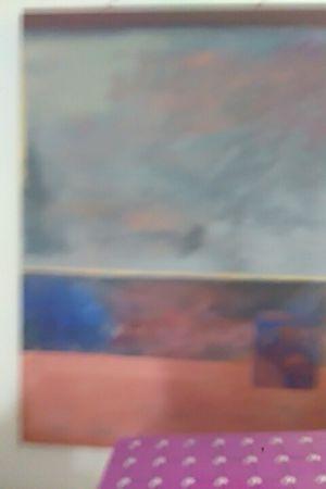 Oil canvas abstract art for Sale in Warren, MI