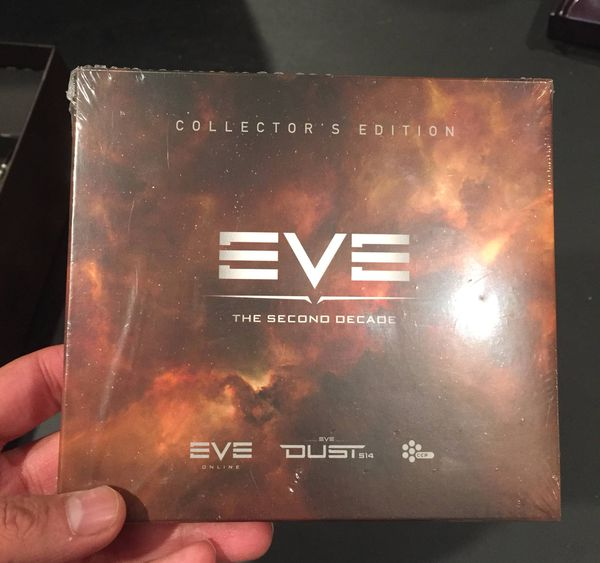 EvE Online: The Second Decade Collector's Edition - Online Codes Unused
