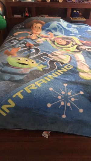 Toy story blanket for twin size bed for Sale in Bristow, VA