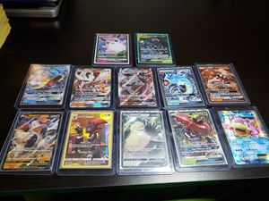 Pokemon cards, ex, gx, full arts for Sale in Bakersfield, CA