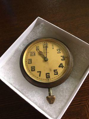 Antique 1920's Car Clock for Sale in Northville, MI